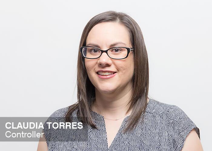 Claudia Torres | Controller