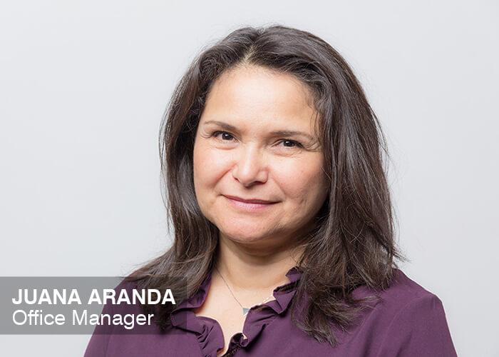 Juana Aranda | Office Manager