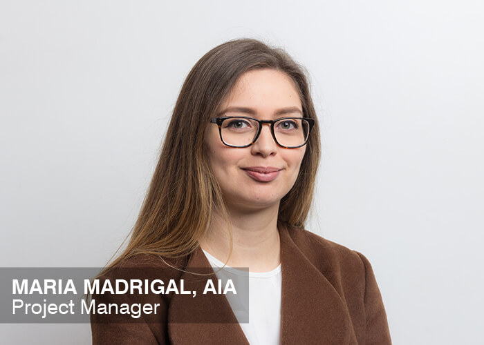 Maria Madrigal, AIA | Project Manager
