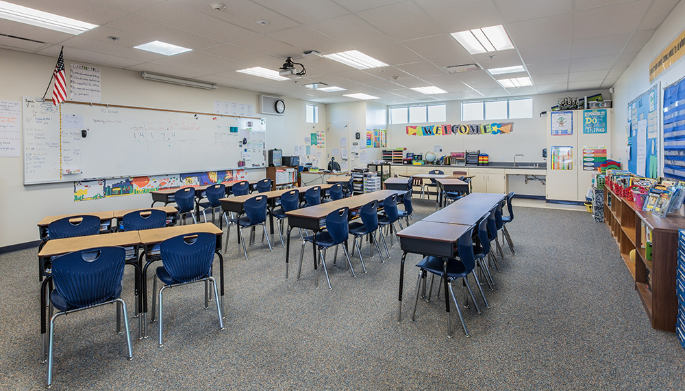 Modular Classroom Observation ~ Artik frank paul elementary school