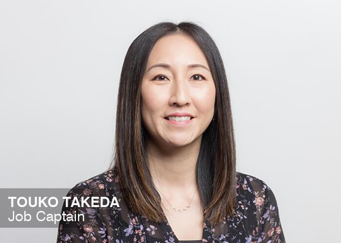 Touko Takeda, Job Captain