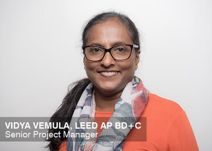 Vidya Vemula, LEED AP BD+C | Senior Project Manager